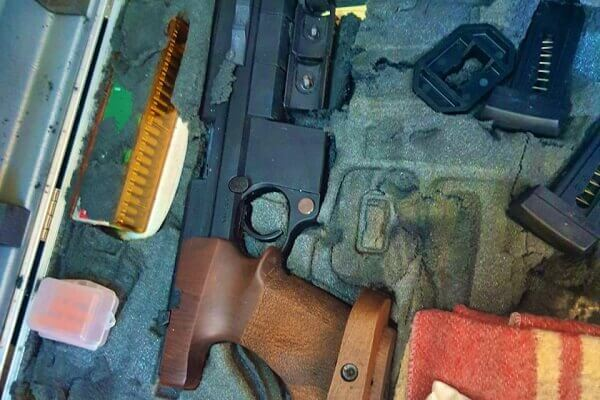 DCI detectives recover cache of arms from Mother and daughter