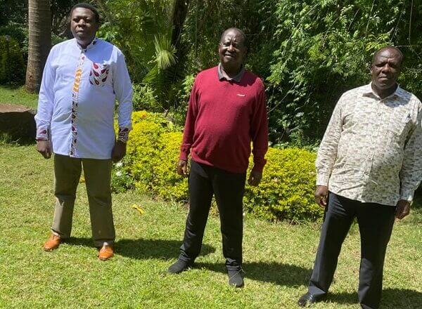 ODM confirms they were aware of DP Ruto-Oparanya meeting