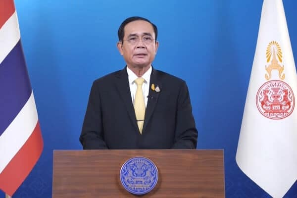Thai Prime Minister fined for not wearing a mask