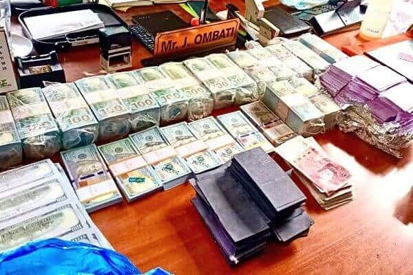 Three foreigners arrested in Ruiru with fake cash and gold