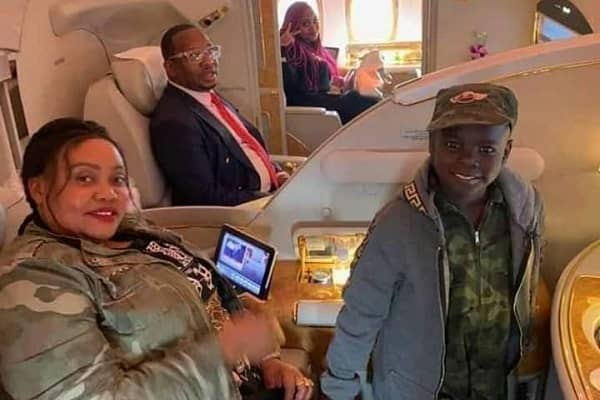 Sonko pens a touching birthday message for son Osinya