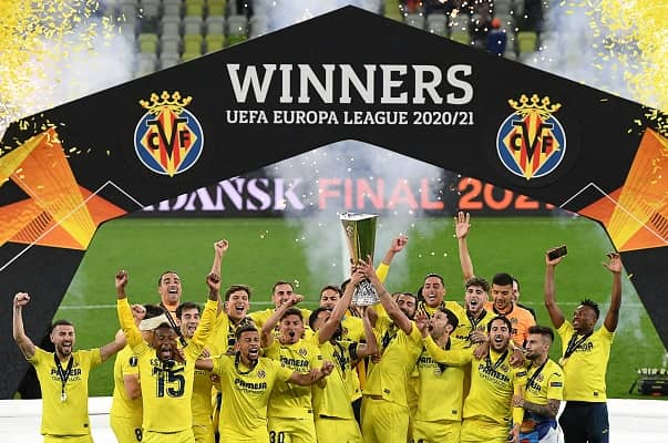 Villareal beat Manchester United to win the Europa League