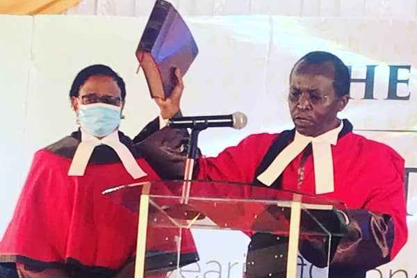 Justice Musinga sworn in as new Court of Appeal President