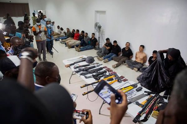 Haiti: 17 people arrested over assassination of President