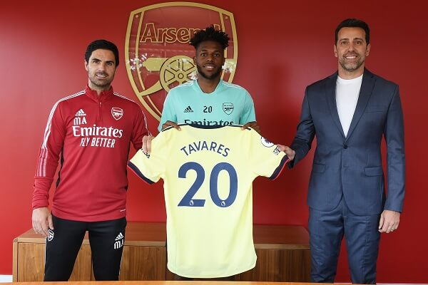 Nuno Tavares joins Arsenal on a permanent deal from Benfica