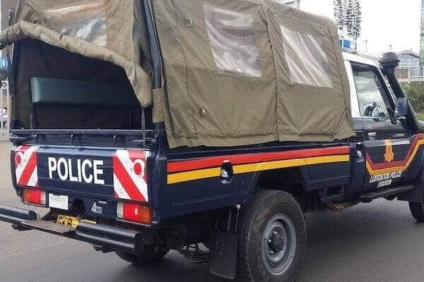 Suspect hospitalized after jumping off 3rd floor in Embakasi