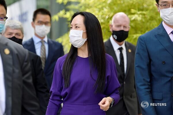 China frees two Canadians after release of Huawei CFO